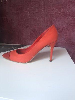 H&M Ciabatta aperta arancione-rosso scuro