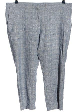 H&M 3/4-Hose blau-weiß meliert Casual-Look