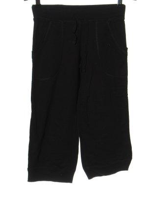 H&M Spodnie 3/4 czarny W stylu casual