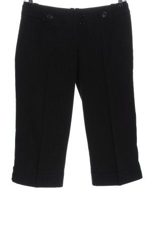H&M 3/4-Hose schwarz-weiß Streifenmuster Casual-Look