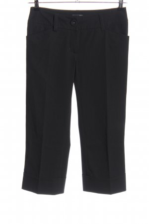 H&M 3/4-Hose schwarz Business-Look