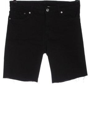 H&M Jeansy 3/4 czarny Elegancki