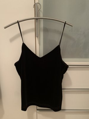 H&M Top de tirantes finos negro