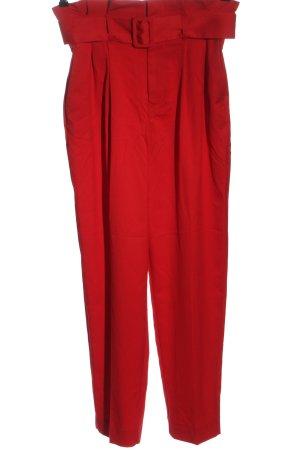H&M 7/8-broek rood zakelijke stijl