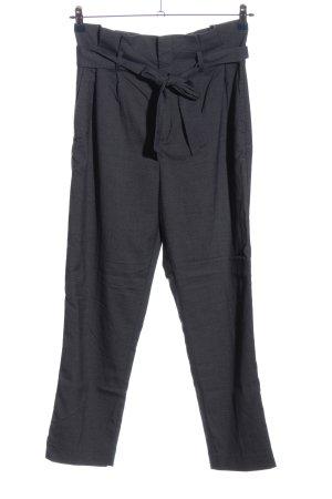 H&M Pantalone a 7/8 blu-bianco sporco motivo a righe stile casual