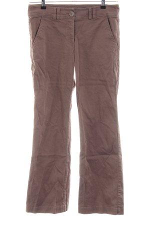 H&M Pantalón tobillero marrón look casual