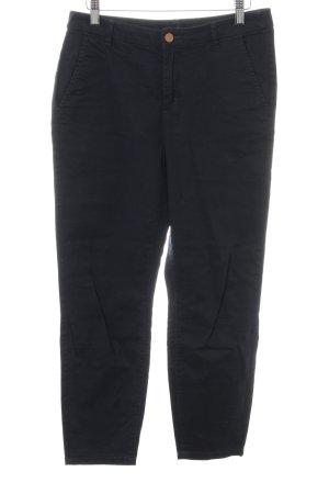 H&M 7/8-Hose dunkelblau schlichter Stil