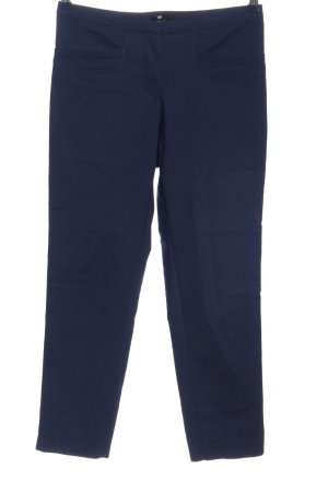 H&M 7/8-Hose blau Business-Look
