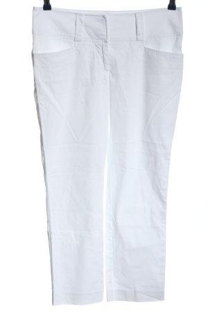 H&M Pantalon 7/8 blanc style décontracté