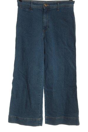 H&M Jeansy 7/8 niebieski W stylu casual