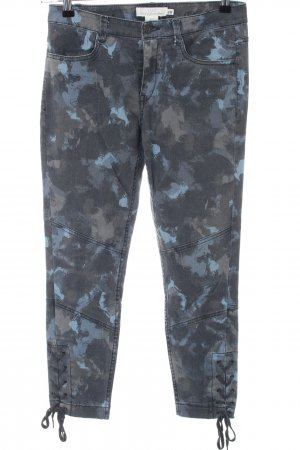 H&M 7/8 Jeans Allover-Druck Casual-Look