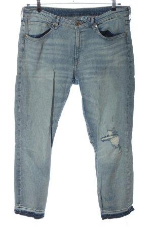 H&M Jeans 7/8 bleu style décontracté