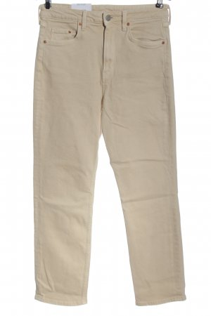 H&M Jeansy 7/8 w kolorze białej wełny W stylu casual