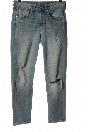H&M 7/8-jeans blauw casual uitstraling