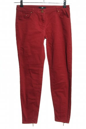 H&M 7/8 Length Jeans red casual look