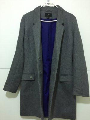 H&M Abrigo de piloto gris