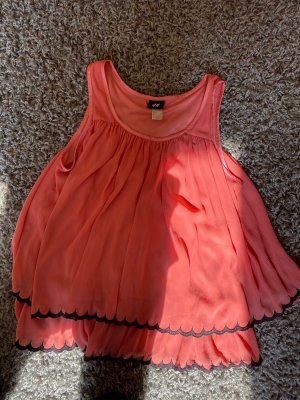 H&M Camicia stile impero rosa