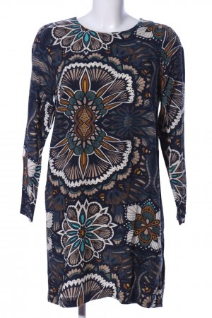 H&M Shirtkleid Allover-Druck Casual-Look