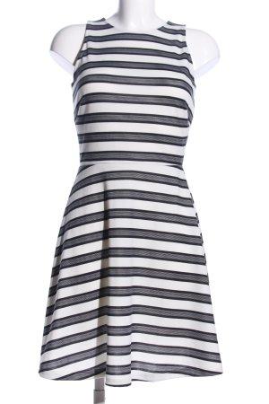 H&M A-Linien Kleid Streifenmuster Elegant