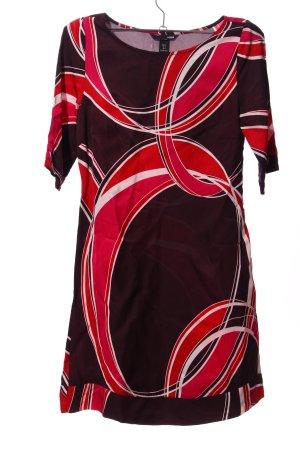 H&M A-Linien Kleid abstraktes Muster Casual-Look