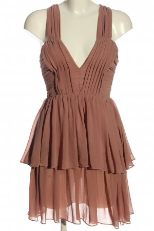 H&M A-Linien Kleid braun Elegant