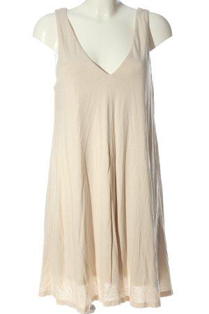 H&M A-Linien Kleid creme Casual-Look