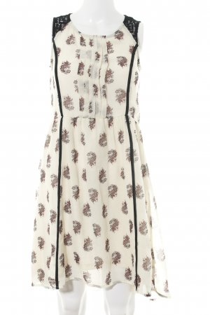 H&M A-Linien Kleid Allover-Druck Casual-Look