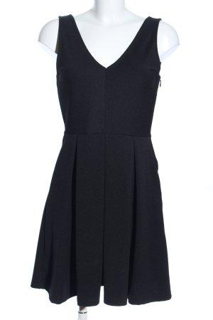 H&M A-Linien Kleid schwarz Casual-Look
