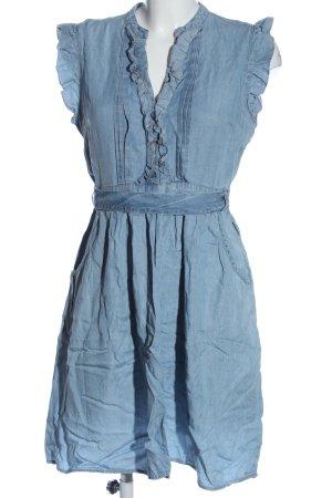 H&M A-Linien Kleid blau Casual-Look