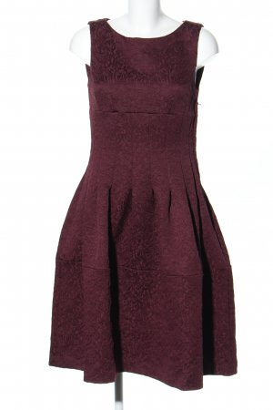 H&M A-Linien Kleid rot Mustermix Casual-Look
