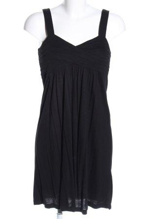 H&M A-lijn jurk zwart casual uitstraling