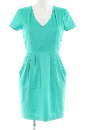 H&M A-Linien Kleid türkis Casual-Look