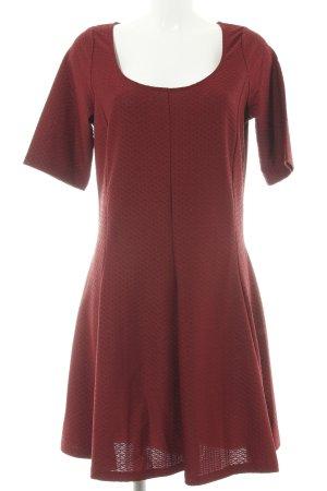 H&M A-Linien Kleid rot Casual-Look