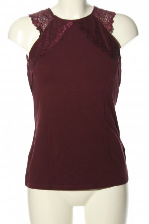 H&M A-Linien Top rot Casual-Look