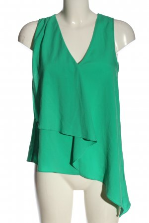H&M Top o kroju litery A zielony Elegancki