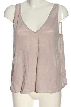 H&M A Line Top natural white flecked casual look
