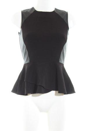 H&M Top o kroju litery A czarny W stylu biznesowym