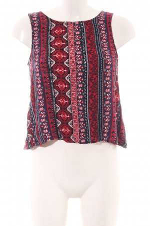 H&M A-Linien Top mehrfarbig Casual-Look