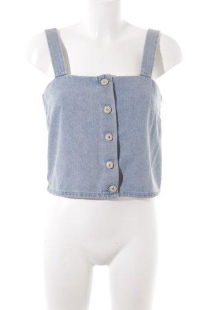 H&M A-Linien Top blassblau Casual-Look