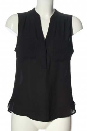 H&M A-Linien Top schwarz Elegant