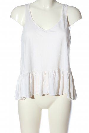 H&M A Line Top white casual look