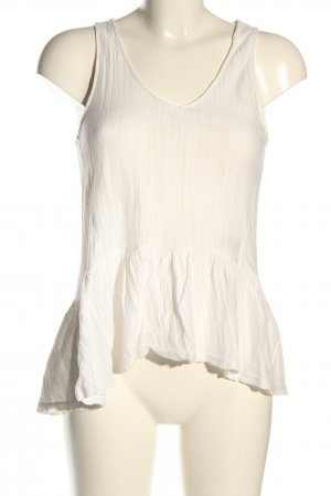 H&M Top linea A bianco stile casual