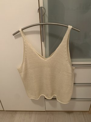 H&M Haut tricotés beige clair