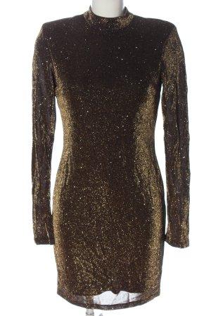 H&M Abendkleid braun Elegant
