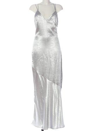 H&M Abendkleid silberfarben Elegant