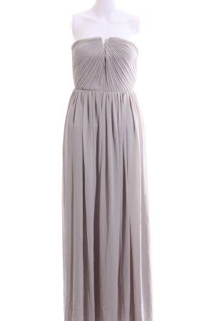 H&M Abendkleid hellgrau Elegant