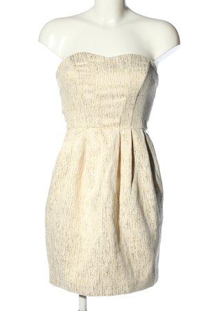 H&M Abendkleid creme Elegant