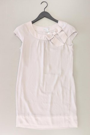 H&M Abendkleid Größe 36 Kurzarm grau aus Polyester