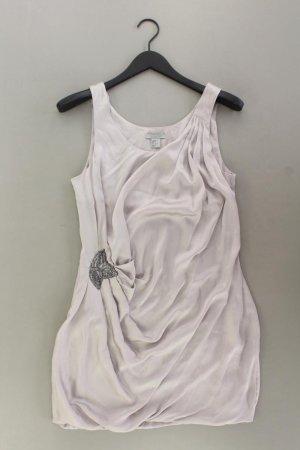 H&M Abendkleid Größe 36 Träger mit Pailletten silber aus Polyester