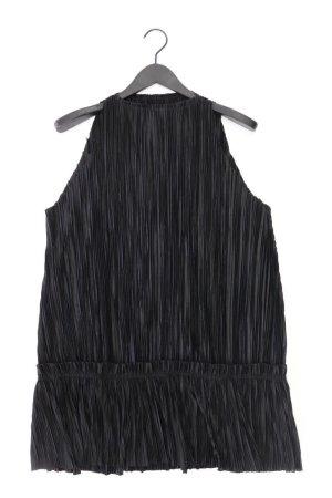 H&M Abendkleid Größe 38 Ärmellos schwarz aus Polyester